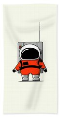 Moon Man Hand Towel