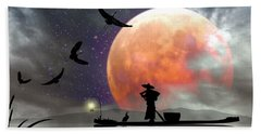 Moon Mist Bath Towel