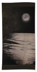 Moon Over The Wedge Hand Towel