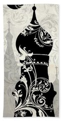 Moon Over Moscow Hand Towel by Mindy Sommers