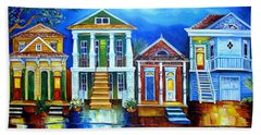 Moon Over New Orleans Hand Towel