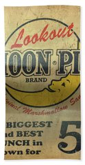 Moon Pie Antique Sign Bath Towel