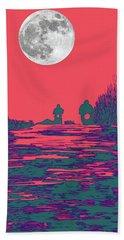 Moon Racers Hand Towel