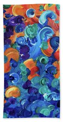 Moon Snails Back To School Bath Towel