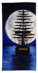 Moon Voyage Hand Towel