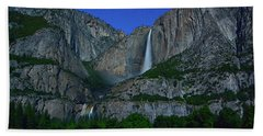 Moonbow Yosemite Falls Bath Towel