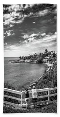 Moonlight Cove Overlook Bath Towel