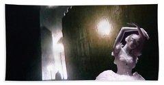 Hand Towel featuring the digital art Moonlight Memory by Lyric Lucas