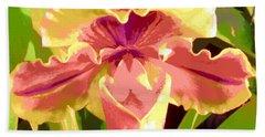 Moonlight Orchid Hand Towel
