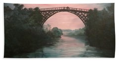Moonlight Over Ironbridge Hand Towel