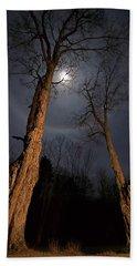 Moonlight Sentinels Bath Towel
