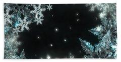 Moonlight Snow Burial Hand Towel