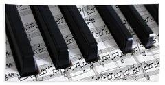 Moonlight Sonata Hand Towel by Iryna Goodall