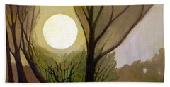 Moonlit Dream Hand Towel by Donald Maier