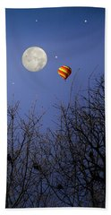 Moonlit Ride Bath Towel