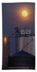 Moonrise At Laird -02 Hand Towel