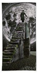Moonrise Hand Towel by Mihaela Pater