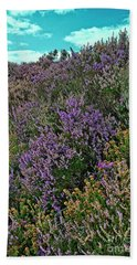 Moorland Heather Hand Towel