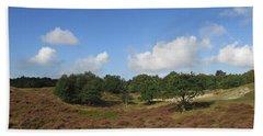 Moorland In The Noordhollandse Duinreservaat Bath Towel