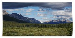 Moose Meadows, Alberta Bath Towel