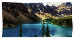 Moraine Lake Hand Towel