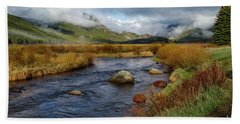 Moraine Park Morning - Rocky Mountain National Park, Colorado Hand Towel by Ronda Kimbrow