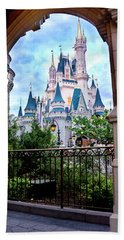 Hand Towel featuring the photograph More Magic by Greg Fortier