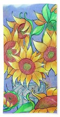 More Sunflowers Hand Towel