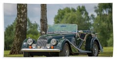 Bath Towel featuring the photograph Morgan Sports Car by Adrian Evans