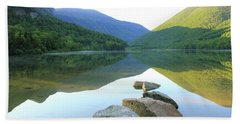 Morning At Echo Lake Hand Towel by Roupen  Baker