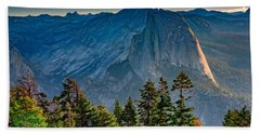 Morning At Half Dome Hand Towel