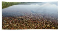 Morning At Lake Mcdonald Bath Towel