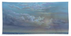 Morning At The Ocean Hand Towel