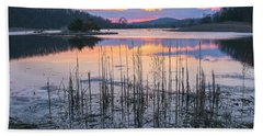Morning Calmness Hand Towel