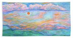 Morning Color Dance Hand Towel