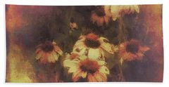 Morning Fire - Fierce Flower Beauty Hand Towel