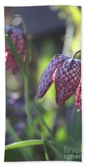 Bath Towel featuring the photograph Morning Flower by Mary-Lee Sanders