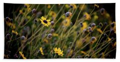 Morning Flowers Hand Towel by Kelly Wade