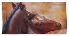 Morning Foals Bath Towel