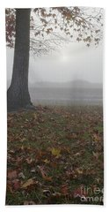 Morning Fog Hand Towel by Jim And Emily Bush