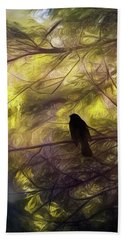 Morning Forest Light Bath Towel