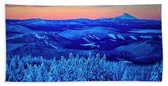 Morning From Timberline Lodge Hand Towel
