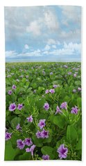 Morning Glories Bath Towel