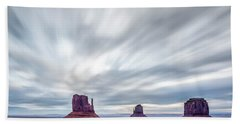 Morning In Monument Valley Bath Towel