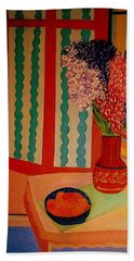 Bill Oconnors  Morning In Provence Bath Towel