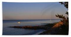 Morning Light At Grey Neck Beach Bath Towel