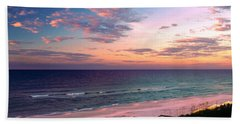 Morning Light On Rosemary Beach Bath Towel by Marie Hicks