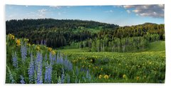 Morning Meadow Hand Towel