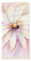 Morning Mist Hand Towel by Elizabeth Lock