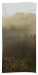 Morning Mist On The Trail Hand Towel